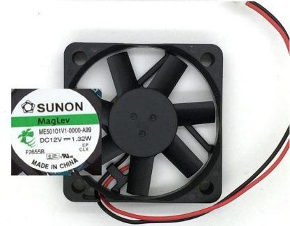 Wholesale: SUNON ME50101V1-0000-A99 12V 1.32W 50*50*10 5CM 2 lines Maglev fan