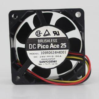 Original 109R0624H4D01 6cm6025 24V0.06A inverter cooling fan