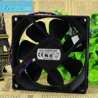 Wholesale Delta 9025 DC 12V 0.19A 9CM DSB0912M 3-wire Mute Power Computer Box Cooling Fan