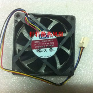 Wholesale AVC DS07015R12L 7CM 7015 12V 0.30A CPU 4 line 4-pin pwm tempreture controller cooling fans