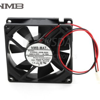 NMB 8025 3108NL-05W-B50 80mm 8cm DC 24V 0.22A 3Wire server inverter axial Cooling Fans
