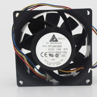 Four-wire PWM 12V 3.3A 1.2A PFC0812DE 8CM server cooling fan