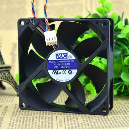 Free Delivery. DS09225T12HP079 12 v 0.41 A 9025 4 four-wire PWM control CPU fan