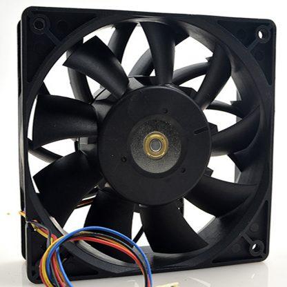 Delta 138 1x1x38mm 12cm FFB1212VHE DC 12V 1.5A 24W 4 lines Violence Server industrial computer case Cooling Fan