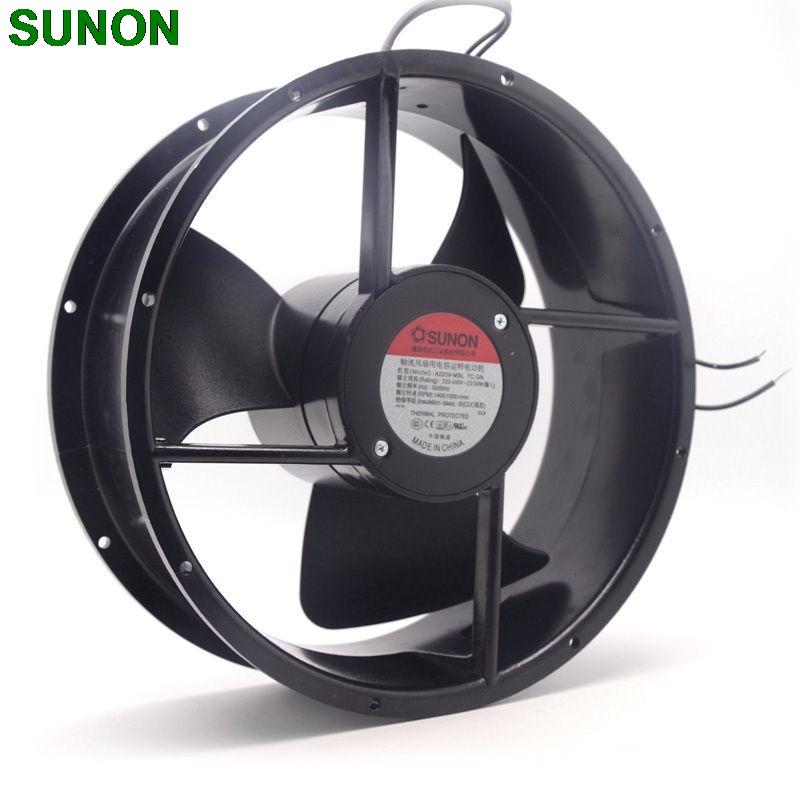Sunon A2259-MBL TC.GN 250mm 2V metal frame cooling fan