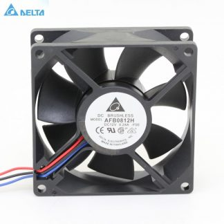Delta AFB0812H 8025 8cm 80mm DC 12V 0.24A 3-pin computer case pc cpu server inverter axial COOLING FANs