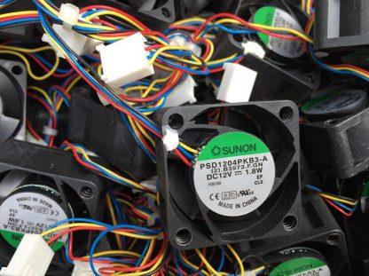 Wholesale: SUNON 40 12V 1.8W 4cm PSD14PKB3-A 4 line PWM switch fan