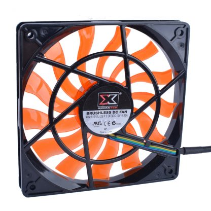 XIGMATEK 120mm fan 120x120x15mm 12V 0.32A Computer CPU four-wire PWM ultra-thin cooling fan.The thickness is only 15mm