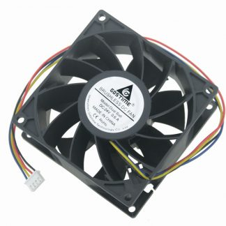 Gdstime 1 Piece DC 24V PC Case CPU Radiator 92x92mm Dual Ball Bearing Brushless Computer Cooling Fan 90mm x 38mm 4 Pin 9cm 9238
