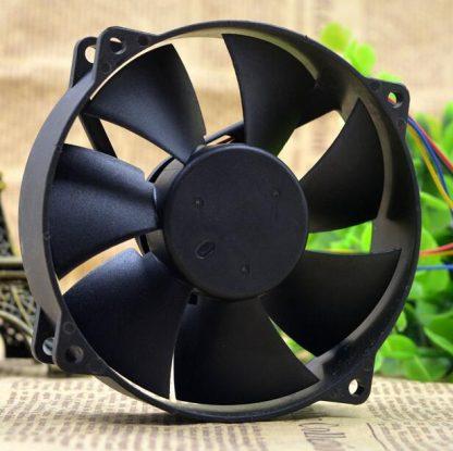 AVC 9CM circular 9025 0.3A DC 12V DA09025R12L CPU 4-Line Silent speed control cooling fan