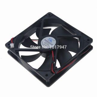 200 Pieces LOT 8025s GDT Radiator 80mm 80x80x25mm 8cm DC 12V 3P Heatsink Cooling Fan