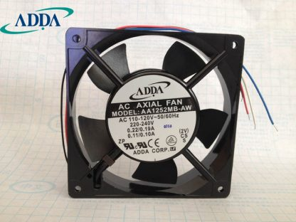 ADDA New original 12025 AC cooling fan AA1252MB-AW 4 wire speed control