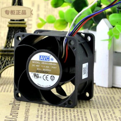 Free Delivery. 2 b06038b48h 48 v 0.35 A 6 cm / 6038 cm Double ball bearing cooling fans