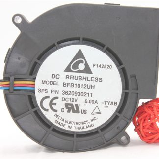 Original 9733 ultra-violent turbine exhaust fan 12V 6A BFB1012UH four-wire PWM speed control
