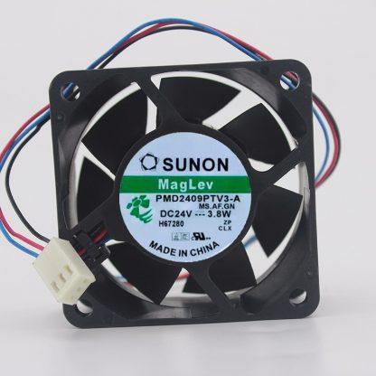 SUNON 24V 3.8W 9225 9cm PMD2409PTV3-A 3-line Robot Industrial Control Inverter Cooling Fan