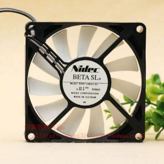 NIDEC D08L-14BS3 01 8CM 14V 0.06A 2 line quiet original head cooling refrigerator fan
