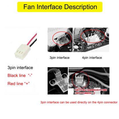 4C-380HB for Bi-Sonic AC380V cooling fan 12cm double ball bearing