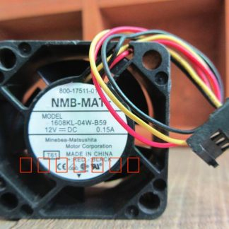 Free Shipping Wholesale Original NMB 1608KL-04W-B59 12V 0.15A 4cm fan 40 server inverter cooling fan