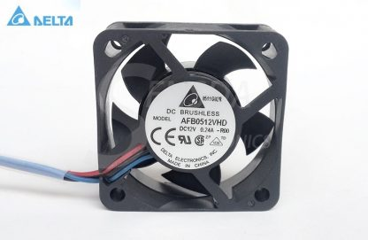 Wholesale Original Delta AFB0512VHD -R00 50 50mm 5cm DC 12V 0.24A 3-wire 3-Pin Alarm server cooling fans