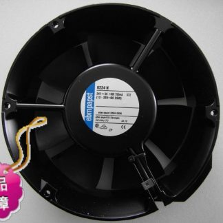 New Original German ebmpapst 6224N 172*51MM DC24V 18W inverter axial cooling radiator fan