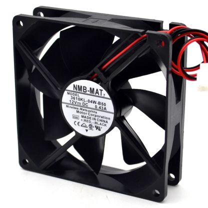 NMB 9cm 3610KL-04W-B59 0.43A 12V air volume chassis double ball bearing fan