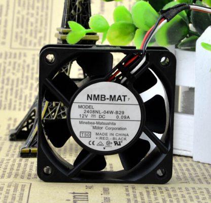 Wholesale: genuine NMB-MAT 2408NL-04W-B29 12V 0.09A 60*60* 6CM 3 line fan