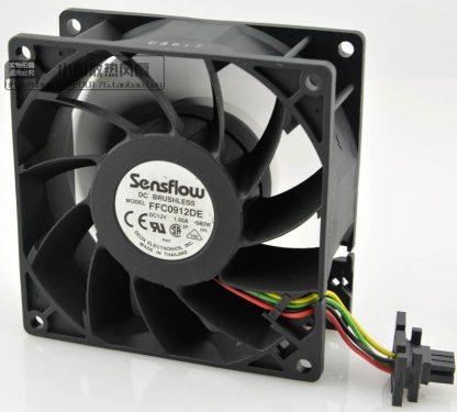 New original FFC0912DE 9038 12V 1.50A 9CM powerful cooling fan industrial fan