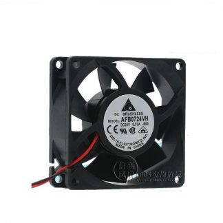 New AFB0724VH 7025 24V 0.33A 7CM inverter dual ball cooling fan