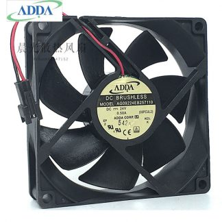 Original ADDA AG09224EB257110 9CM 24V 0.50A 9025 dual ball inverter server cooling fan