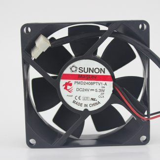 Original PMD2408PTV1-A 24V 5.3W 2-wire inverter industrial cooling fan