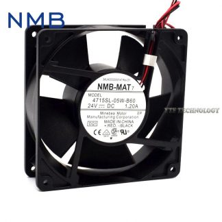 Original NMB 06025SS-12N-AT 6025 12V 0.24A 6cm dual ball cooling fan 23.3CFM 4700RPM