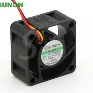 SUNON KDE1204PKVX 40 4cm 40mm 12V 1.4W server inverter power supply axial cooling fans