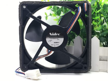 original Nidec U12E12MS4A3-57 J232 12V 0.17A waterproof silent cooling fan