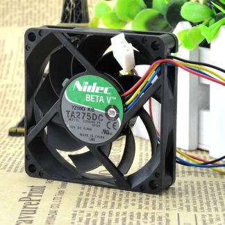 Free Delivery. TA275DC C35598-35 GFOX 7 cm 7015 12 v 0.48 A four-wire fan
