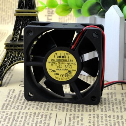 Free Delivery. The original case fans 6020 12 v 0.16 A AD0612HS - C70GL ADDA oil-bearing fan