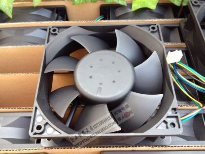 Brand new original Taiwan Delta AFB1212HHE 12038 12V 0.7A120 * 120 * 38mm double ball bearing four-wire PWM cooling fan