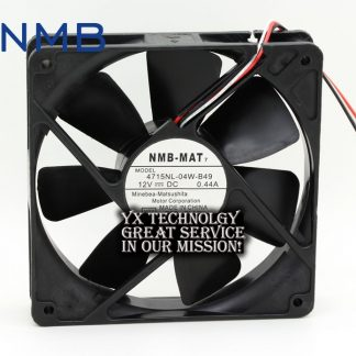 1*1*25mm 4715NL-04W-B49 125 0.44A 12CM 12V cooling fan for nmb