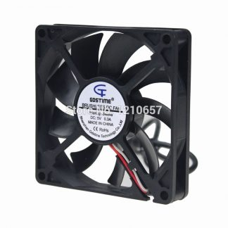 10PCS LOT Gdstime 8015S 80mm 80x80x15mm 8cm DC 5V USB Cooler Cooling Fan