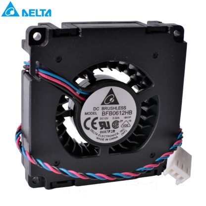 Free shipping DELTA BFB0612HB 6015 60x60x15mm 60mm fan 12V 0.32A Double ball bearing blower Turbine cooling fan