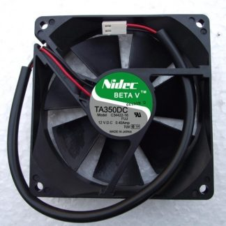 NIDEC TA350DC 9025 DC 12V 0.4A 2 Lines Double Ball Inverter Converter Cooling Fan