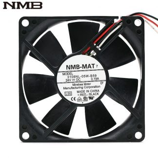 NMB 3108NL-05W-B59 80*80*20MM 80MM DC24V 0.19A Server inverter frequency converter cooling fan