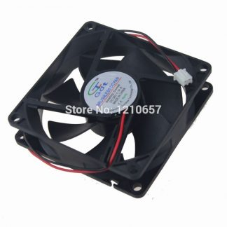200 Pieces LOT Gdstime 80mm 80x80x20mm 8cm DC 24V 2Pin Brushless Cooling Fan