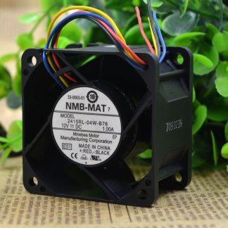 Free shipping NMB 2415RL-04W-B76 6038 6CM 12V 1.00A server E51 cooling fan 60x60x38mm