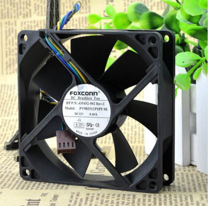 Wholesale: PV902512PSPF 0E 12V 0.40A package 9CM 90*90*25 4 line fan