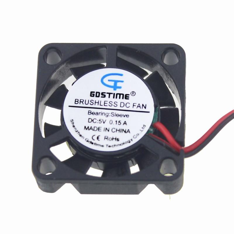 5Pcs 12V Mini 25mm 25x25x7mm Brushless Cooling Fan Sleeve Bearing 2pin 2507S