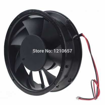 5 Pieces lot DC 12V 2wire 17cm 170mm 172x51mm Metal Strong wind Industrial Cooling Fan
