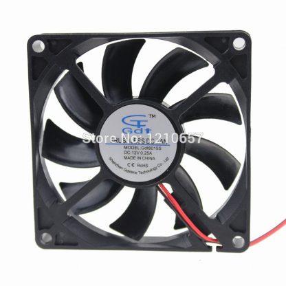 200 Pieces LOT GDT 8cm 80mm 80x80x15mm DC 12V 4Pin Computer Case Heatsink Fan