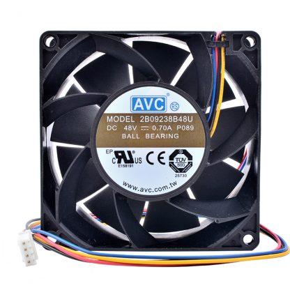 New and original 2B09238B48U DC 48V 0.70A 9238 92x92x38mm High-end server inverter cooling fan