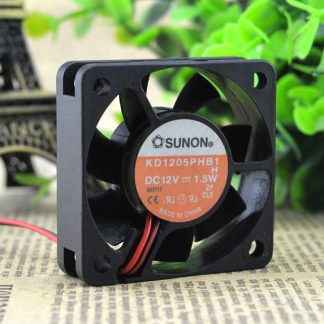 Wholesale: genuine SUNON 5CM 12V 1.5W KD15PHB1 50*50*15 2 wire cooling fan