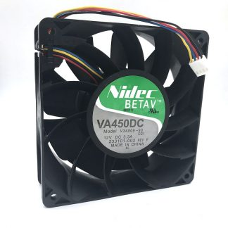 Nidec V34809-90 For Bitcoin miner 120*120*38mm 12V 5200RPM 220CFM power ful fan replace TFC1212DE
